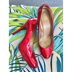 Stuart Weitzman Patent Leather …